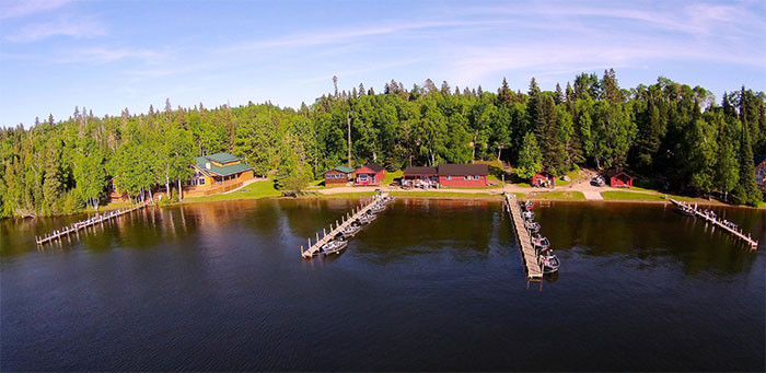 Thaddeus lake lodge all canada for Ontario drive in fishing lodges